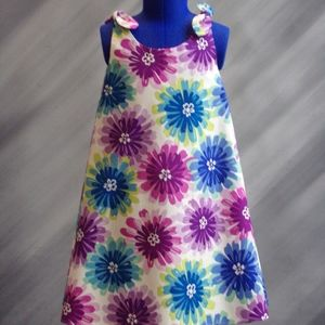 NEW-Adjustable Multi Color Sundress - Child's:5
